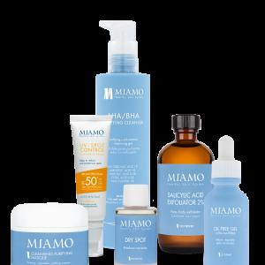 Miamo Skincare – PROTOCOLLO ACNE GIOVANILE