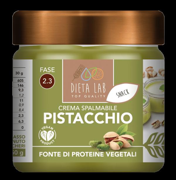 crema pistacchio proteica